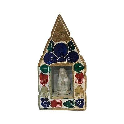 Oratório em pedra sabão P - MG (cores variadas)