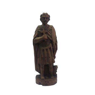 Santo Expedito em madeira - CE