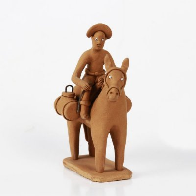 Miniatura em Cerâmica do Elias Vitalino - PE