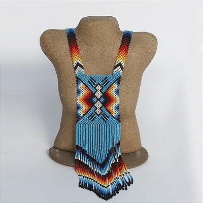 Colar de Missanga da Etnia Yauanawá - AC