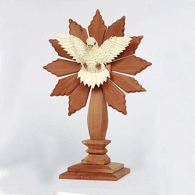Divino em Madeira Pedestal - MG