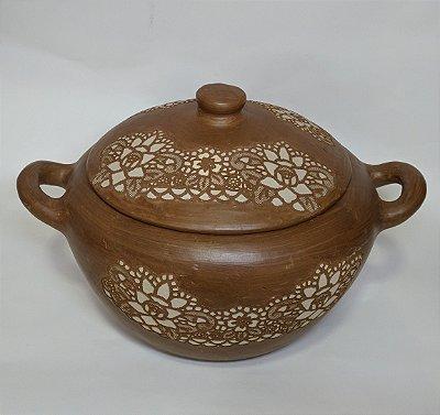 Panela alta cerâmica cascavel -CE