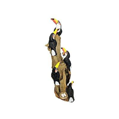 Tronco Com 6 tucanos- MS