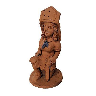 Escultura mulher da Nena de capela -AL