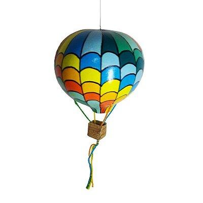 Balão Colorido em Cabaça P  - SP
