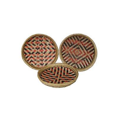 Trio de Peneira etnia Baniwa - AM