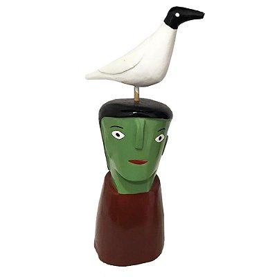 Cabeça com Pássaro do Cicero I.D.F - AL
