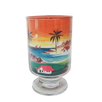 Paisagem de areia no vidro - CE