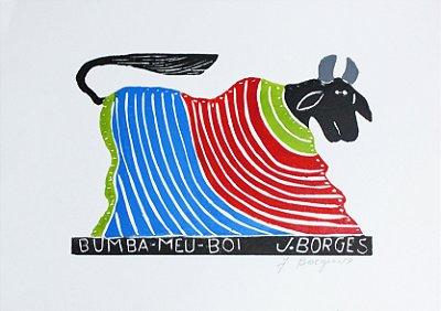 Xilogravura J.Borges Bumba-Meu-Boi M - PE