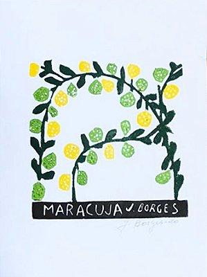 Xilogravura J. Borges Maracujá - PE