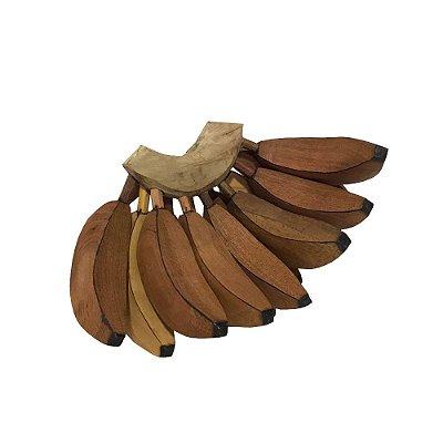 Cacho de Banana em madeira - PB