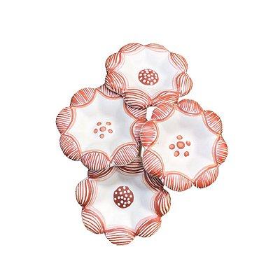 Bouquet de 4 Flores - Rosa Barbosa