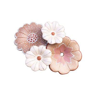 Bouquet de flor bege - Variadas