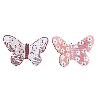 Dupla de borboleta de parede - Do Carmo
