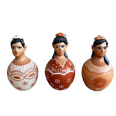 Trio de bonecas - Maria Tereza