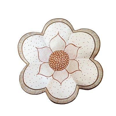 Flor Branca  M - Pedrelina