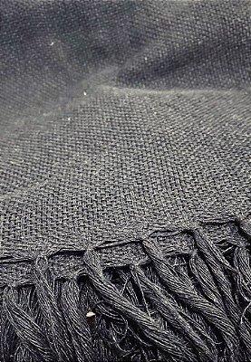 Manta de algodão preta 1,20 x 1,35 - PB