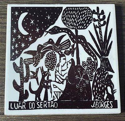 """Azulejo PB """"Luar do Sertão"""" do J. Borges P - PE"""
