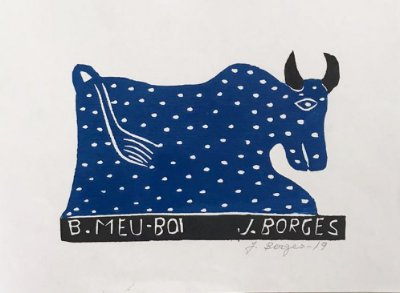 Xilogravura J. Borges Bumba-meu-Boi P- PE