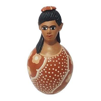 Boneca Maria Tereza P - Vale do Jequitinhonha -MG