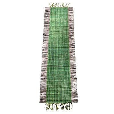 Caminho de mesa fibra de piaçava com algodão - BA