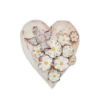 Coração Divino com Flores - MG