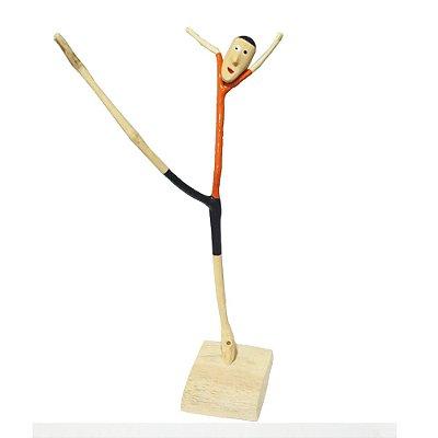 Acrobata em madeira do Yang M - AL