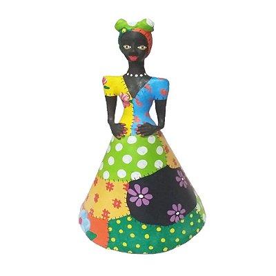 Boneca colorida - Lourival MG