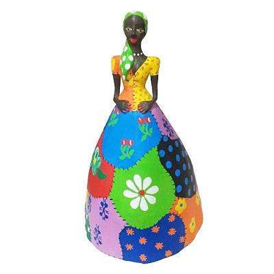 Boneca colorida G - Lourival MG