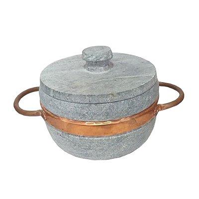 Panela Pedra Sabão 700ml - MG