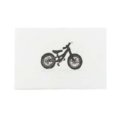 Xilogravura Bicicleta - João Pedro CE