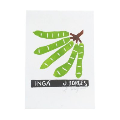 Xilogravura Ingá - J. Borges PE