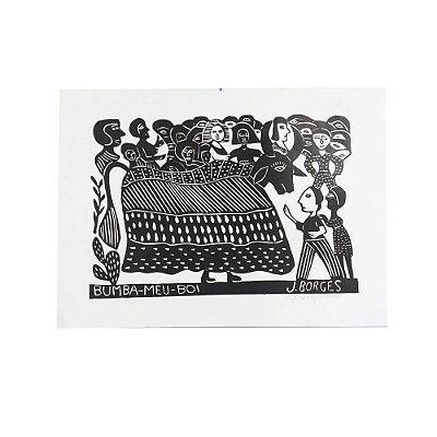Xilogravura J. Borges Bumba-Meu-Boi G - PE