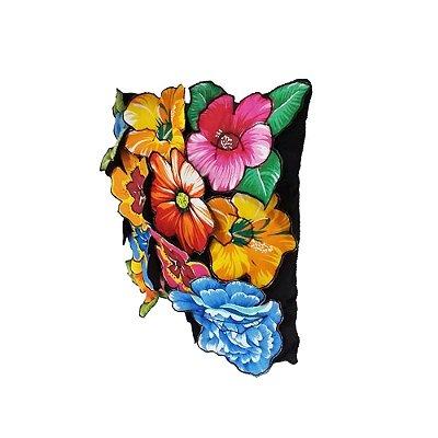 Almofada com Flores de Chitão - PB