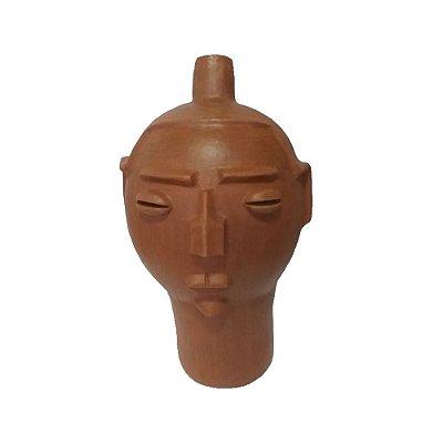 Cabeça Feminina em Cerâmica M - Neguinha PE