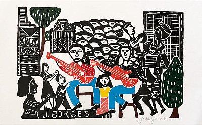 Xilogravura J. Borges G - PE