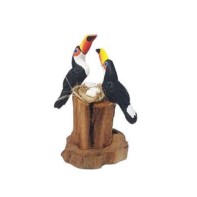 Tronco Com 2 tucanos - MS