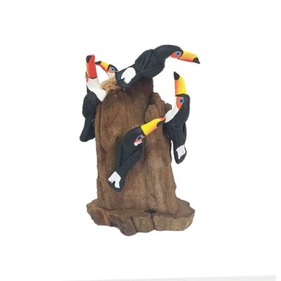Tronco Com 4 tucanos - MS