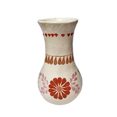 Vaso Branco da Joaquina - Vale do Jequitinhonha MG