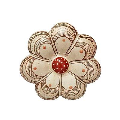 Flor de Parede 10 Cm - Vale do Jequitinhonha MG