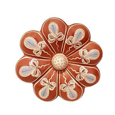Flor de Parede 16 Cm - Vale do Jequitinhonha MG