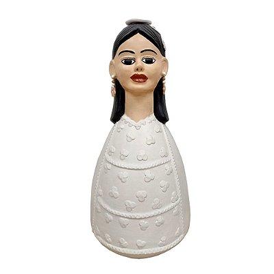 Boneca Noiva da Durvalina Vale do Jequitinhonha - MG