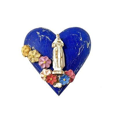 Coração São Francisco com Flores - MG
