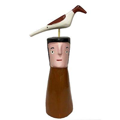 Cabeça com Pássaro - Cícero I.D.F. - AL