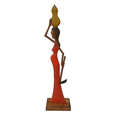 Escultura Retirante M Ivo - PE