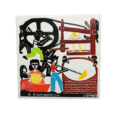 "Azulejo ""A Farinhada"" P - J.Borges - PE"