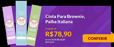 Cinta Para Brownie, Palha Italiana