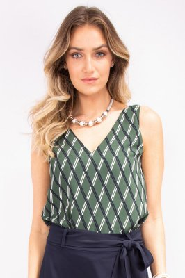 Regata Green Geometric