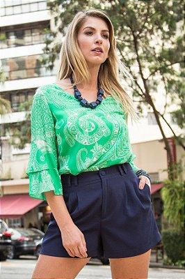 Bata Green Cashmere