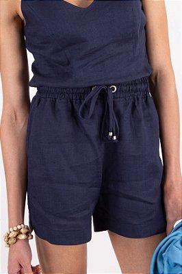 Shorts 100% Linho Giselle